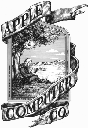 Apple-Computer-original-logo-Newton-tree